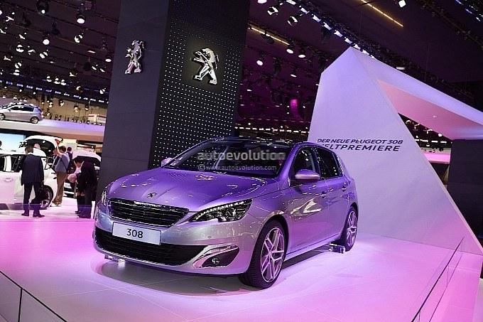 2013法兰克福车展 标致308 r首次亮相