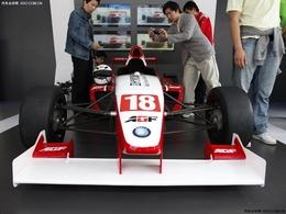 2009上海车展吉利方程式