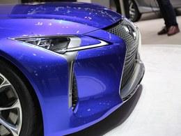 雷克萨斯LC500h列表_车展组图