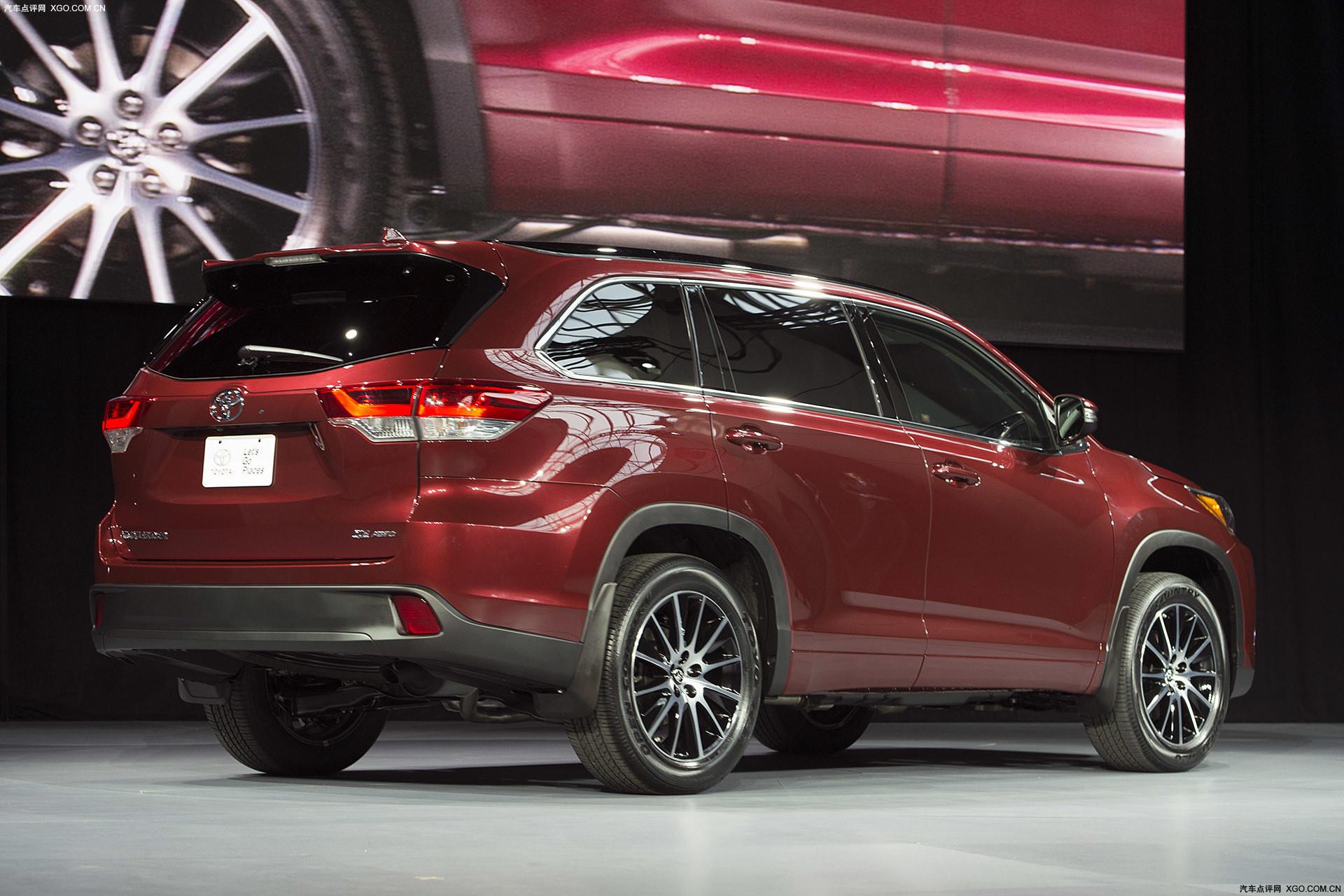 2016纽约车展 丰田新款汉兰达正式发布