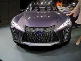 2016巴黎车展Lexus UX 概念车