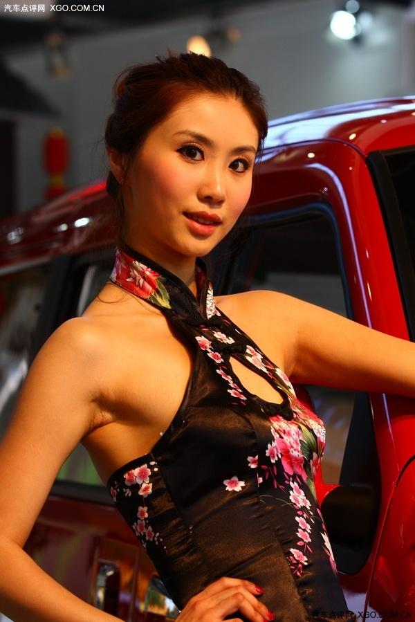 2010北京车展 气质车模