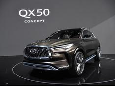 英菲尼迪QX50概念车实拍