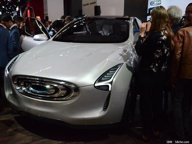 法兰克福车展昶洧 SUV