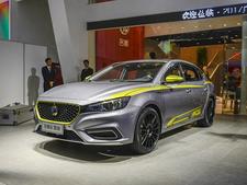2017广州车展实拍 名爵6插电混动版车型