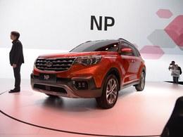 2017广州车展起亚NP
