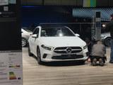 2018日内瓦车展探馆 奔驰全新A级实车图