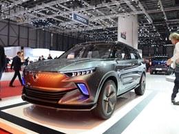 国际车展双龙e-SIV