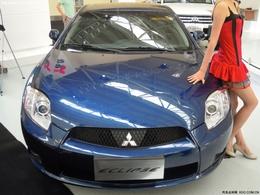 2010兰州车展三菱伊柯丽斯