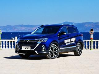 北汽新能源EX5静态体验 家族新晋纯电SUV