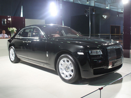 2011哈尔滨车展劳斯莱斯古思特